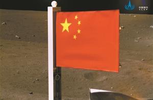 """""""中国红""""闪耀月球"""
