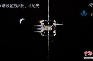 """首次跨越38万公里交会对接 微波雷达助嫦娥五号""""太空牵手"""""""