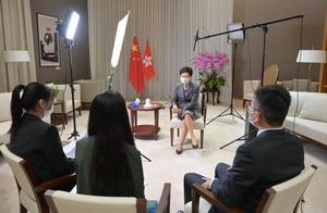 """外国政府无理""""制裁""""内地及香港官员 林郑月娥:回头是岸"""