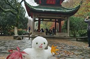 """长沙今冬最大的一场雪下在了""""朋友圈"""""""
