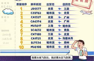 """""""跨年游""""去哪儿?上海人最爱去哈尔滨赏雪,北京人最爱去三亚过冬"""
