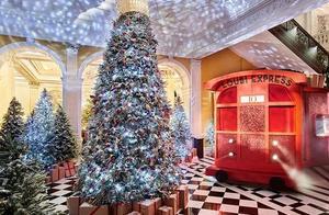 记忆中伦敦的圣诞节,有多少种美?