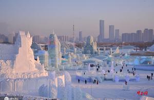 """哈尔滨:""""冰雪奇缘""""开园迎客"""