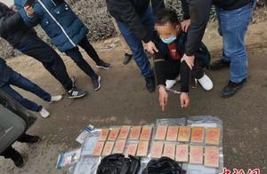 广西警方侦破特大涉枪贩毒案 嫌犯开枪拒捕自杀