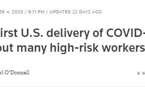"""疫苗接种""""权贵优先""""?分配不公加剧美国社会乱象"""