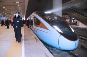 银西高铁正式开通 西安铁警全力护航