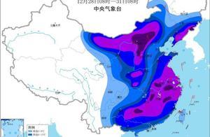 今冬最高级别!寒潮橙色预警发布 局地降温超16℃