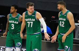 独行侠9名球员在场净胜分值20+,平NBA历史纪录