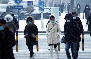 寒潮橙色预警!中东部大部地区气温将下降10℃左右