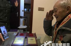一个军礼一段视频 连起了两位上甘岭战役特等功臣的心