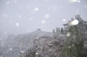"""青州仰天山:银装素裹开启""""冰雪模式"""""""