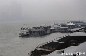 """看江城这""""一身""""的雪,长江烟波浩渺别样的美"""