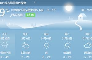 """再发预警!-12℃+暴雪!直击烟台街头最美""""雪警"""""""