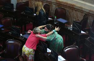 阿根廷国会通过堕胎合法化法案,允许怀孕14周内妇女堕胎