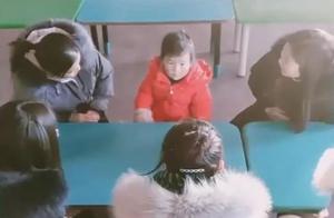 零下8度幼儿园只来了1个学生,独享5名老师团宠,感动又不敢动