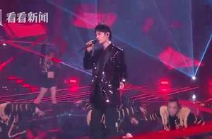 肖战连续2年在东方卫视跨年 翻唱张惠妹《相爱后动物感伤》