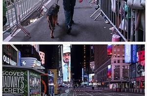 100多年首次!纽约时代广场跨年夜空旷寂静 只剩下警察巡逻