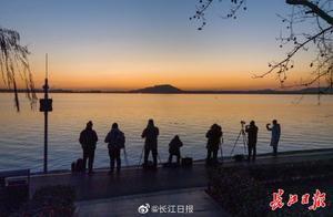 追光、赏梅、观鱼、许愿……你的新年第一天,东湖承包了