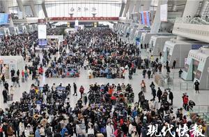 元旦假期第二天,长三角铁路预计发送旅客175万人次