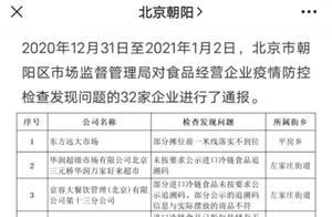 每经午时 | 北京朝阳通报35家未落实疫情防控责任企业;江苏海安疾控公告:排查追踪一例北京确诊病例密接者的密接者