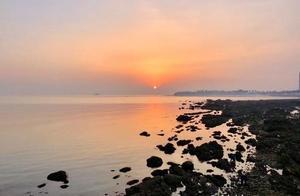 情报站|元旦假期最后一天,感受海边绚丽的日出依旧美得不像话