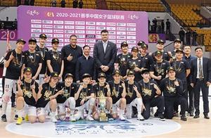 内蒙古农信女篮夺得中国女子篮球联赛总冠军