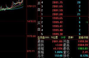 贵州茅台站上2000元大关创历史新高,市值超25000亿元