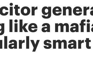 """美国前代理副总检察长:特朗普在""""施压电话""""中听起来像个不是特别聪明的黑帮头目"""
