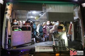 河北衡水110名医护人员赴藁城协助核酸检测工作