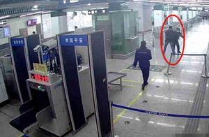 壹现场丨男子乘坐北京地铁7号线 多次拒绝安检强行进站被拘留