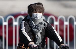 2021年首个寒潮预警来袭 太原气温骤降10℃