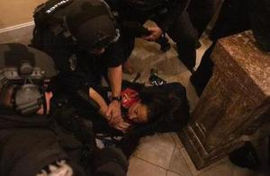 特朗普女支持者在国会被枪杀:中弹后从高处摔落 口吐鲜血