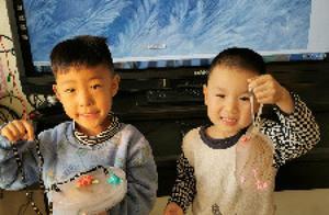 别样冬天 冰花盛开——东营市河口区仙河镇中心幼儿园开展制作冰花活动