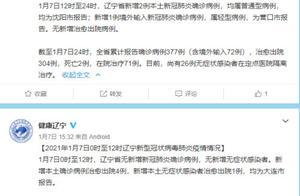 辽宁昨日新增2例本土确诊 均为沈阳市报告