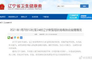 2021年1月7日12时至24时辽宁新型冠状病毒肺炎疫情情况
