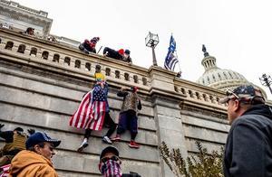美媒:特朗普粉丝暴力打碎美国民主灯塔形象 法国总统马克龙出来圆场
