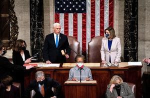 美媒:美国国会在暴力中确认拜登胜选 国会大厦被特朗普粉丝打砸对手被竖绞架