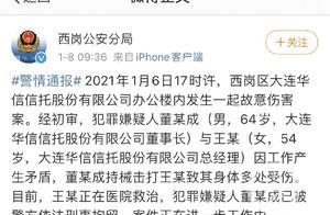 华信信托董事长董永成锤击女老总,疑因公司经营问题发生冲突