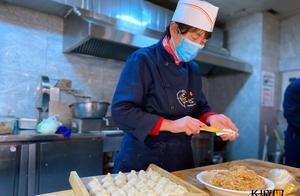 高清组图 河北石家庄:暖心饺子送抗疫一线