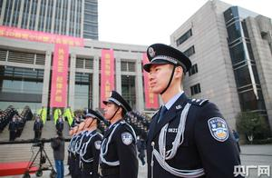 """上海公安机关举办首个""""中国人民警察节""""庆祝活动"""