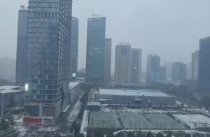 贵阳,下雪了