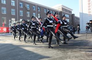 长春市公安局隆重举行警旗升旗仪式
