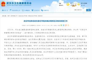 河北新增确诊病例中2人近期曾到武汉,武汉启动紧急排查