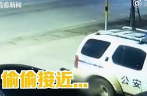 """令人""""智熄""""!海南2名男子为逃避执法给警车装定位,网友很无语"""
