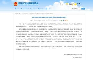 武汉市迅即启动石家庄市相关确诊病例在汉情况排查工作