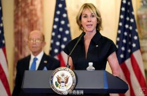 外媒:美驻联合国大使克拉夫特取消访台