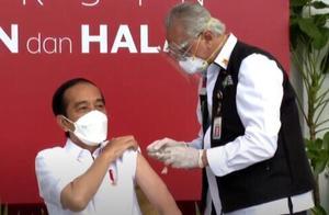 印尼总统佐科网上直播接种中国新冠疫苗 网民观看