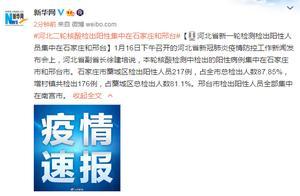 河北:新一轮检测检出阳性人员集中在石家庄和邢台