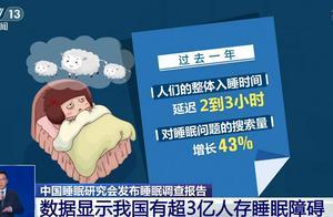 """我国超3亿人""""睡不好"""",疫情致整体入睡时间延迟2到3小时,你几点睡?"""