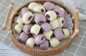 在家不知道吃什么,吃紫薯小馒头就对了
